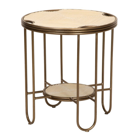 Hudson Side Table in Natural design by Selamat