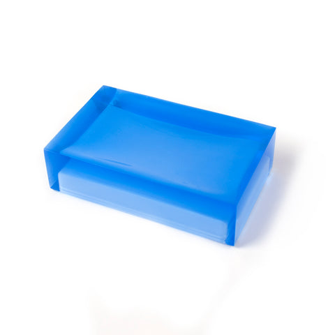 Blue Hollywood Soap Dish