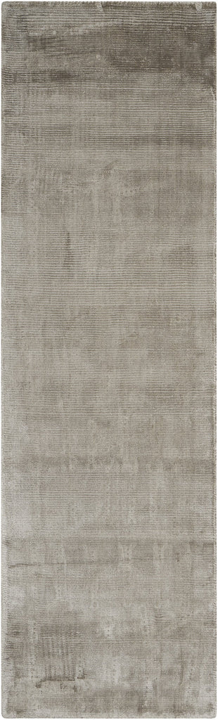 Lunar Rug in Pewter by Calvin Klein
