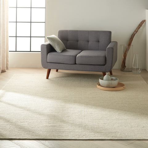 Lowland Rug in Marble by Calvin Klein