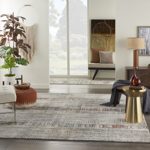 Tangra Rug in Multicolor by Nourison