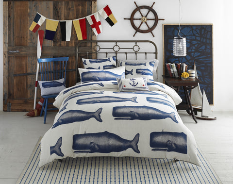 Moby Duvet Cover design by Thomas Paul