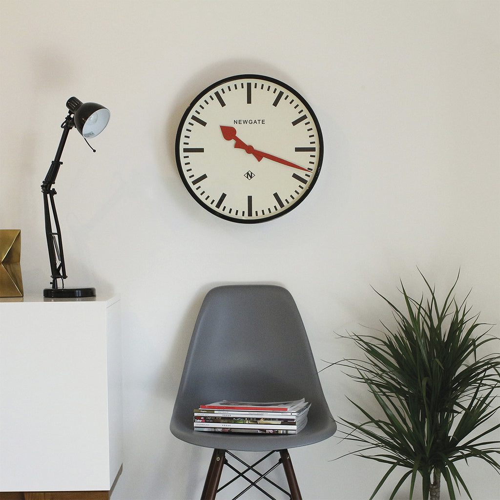 Putney Clock in Black design by Newgate