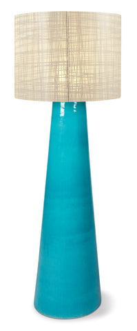 Inda Copenhagen Ceramic Cordless Outdoor LED Floor Lamp in Various Colors & Shades by BD Outdoor
