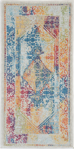 Ankara Global Rug in Ivory/Multicolor by Nourison