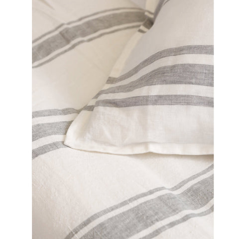 Jackson Bedding in Cream & Grey