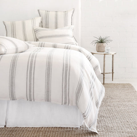 Jackson Bedding in Cream & Grey design by Pom Pom at Home