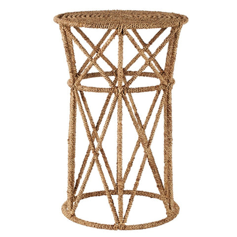 Jute Buoy Side Table in Natural design by Selamat