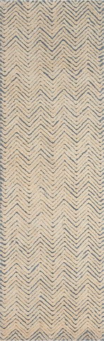 Deco Mod Rug in Light Blue/Ivory by Nourison