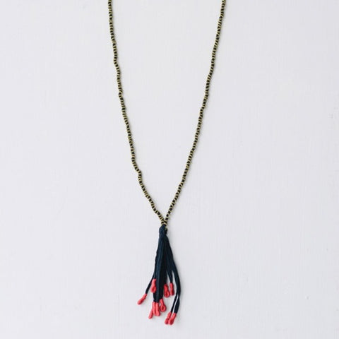 Alloy Twisted Necklace