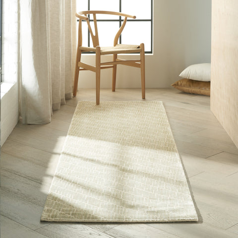 Maya Rug in Mica by Calvin Klein