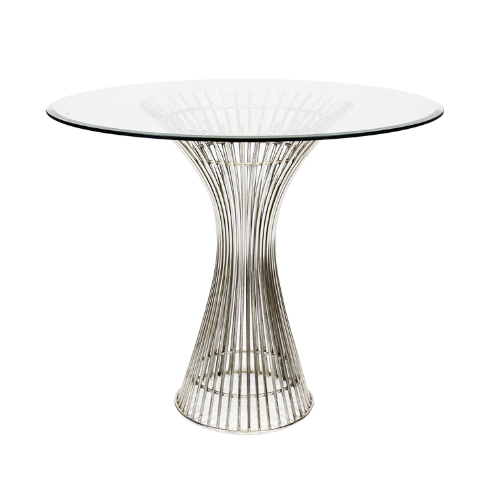 Stainless Steel Side Table Base Only