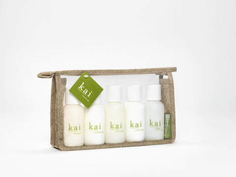 Kai Travel Set design by Kai Fragrance