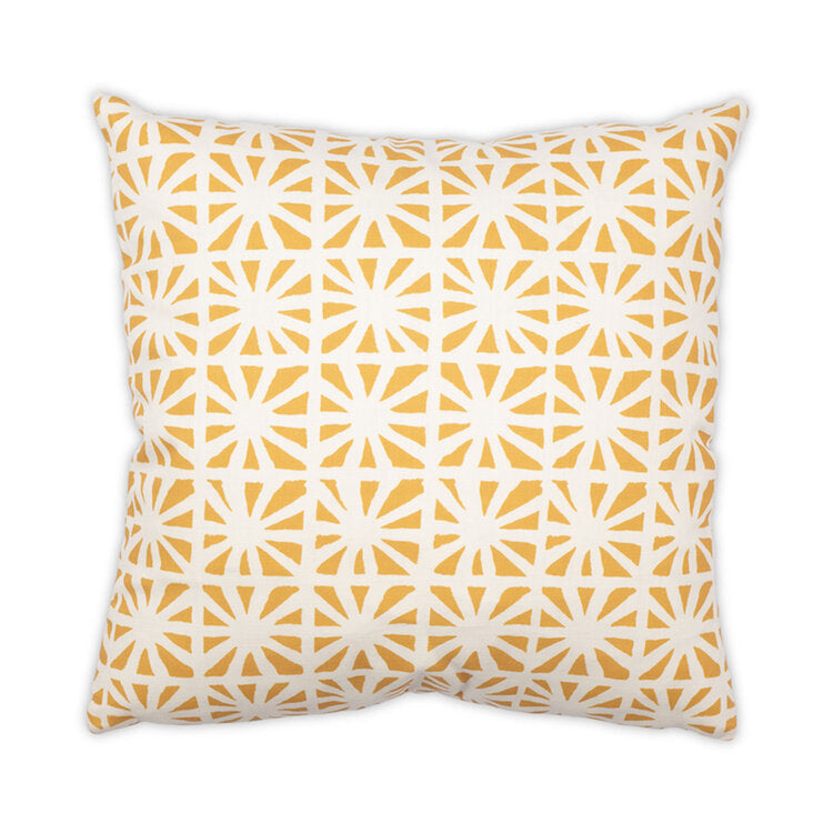 Kaleidoscope Pillow in Various Colors design by Moss Studio