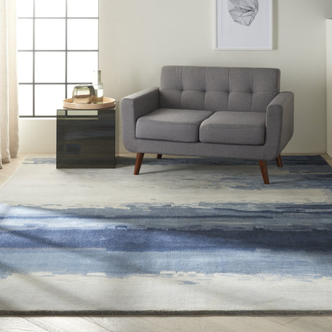 Luster Wash Dusk Shade Area Rug by Calvin Klein