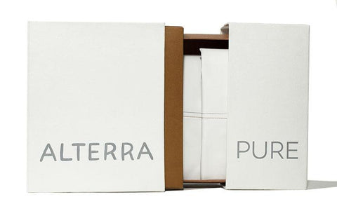 Organic Cotton Fitted Sheet by Alterra Pure