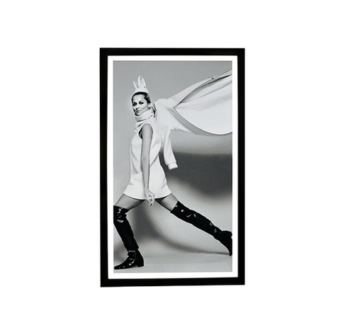 Lauren Hutton in Black and White