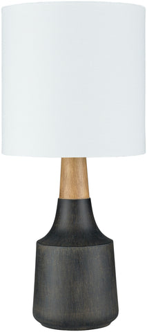 Kent Table Lamp in Black & White design by Surya