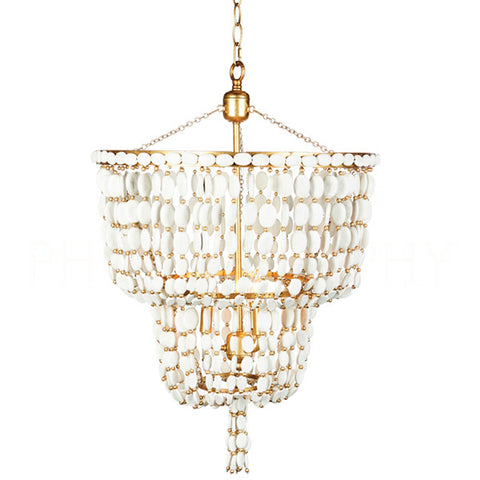 Sea Foam Two Tier Chandelier Design By Aidan Gray