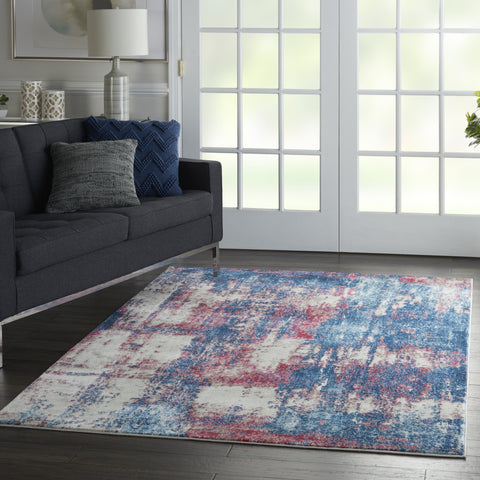 Etchings Rug in Multicolor by Nourison
