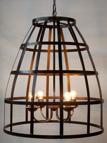Birdcage Pendant 305 in Various Colors by Noir
