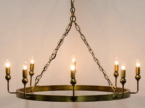 Blinder Chandelier by Noir