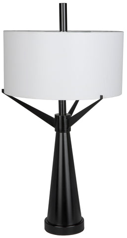 Altman Table Lamp with Shade by Noir