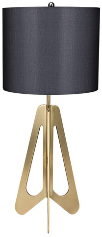 Candis Lamp with Black Shade by Noir
