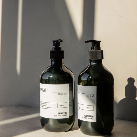 Meraki Body Wash in Linen Dew