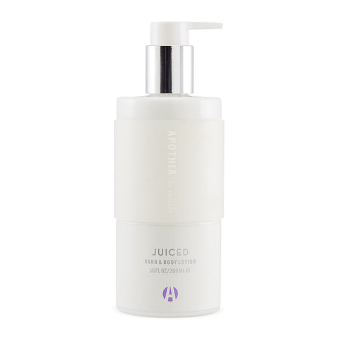 Juiced Hand & Body Lotion design by Apothia