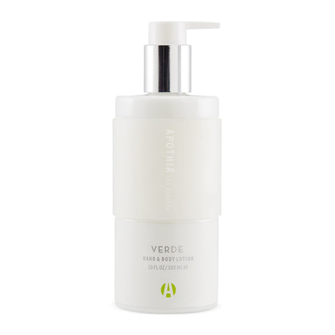 Verde Hand & Body Lotion design by Apothia