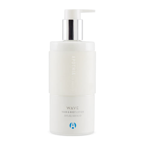 Wave Hand & Body Lotion design by Apothia