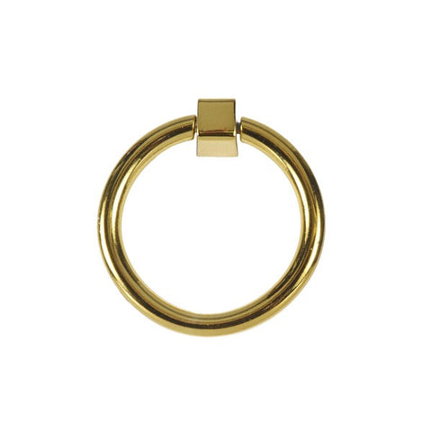 Lucas Circular Pull in Brass design by BD Studio