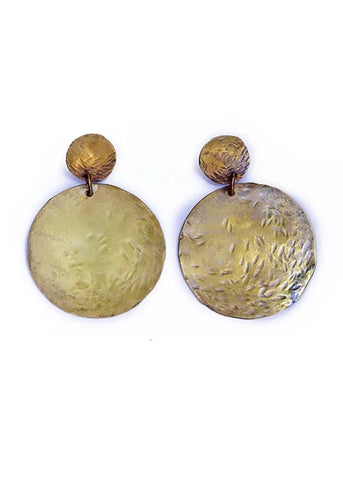 Lunar Earrings design by WATERSANDSTONE