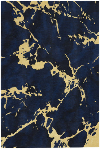 Symmetry Rug in Navy by Nourison