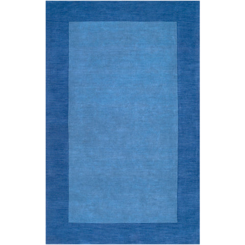 Mystique Wool Area Rug in Sapphire & Dark Blue design by Surya