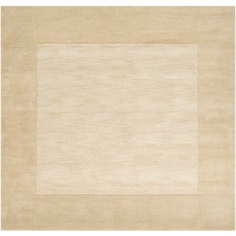 Mystique Collection Wool Area Rug in Parchment and Oyster Grey design by Surya