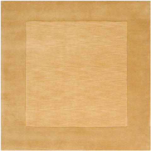 Mystique Collection Wool Area Rug in Dark Goldenrod design by Surya