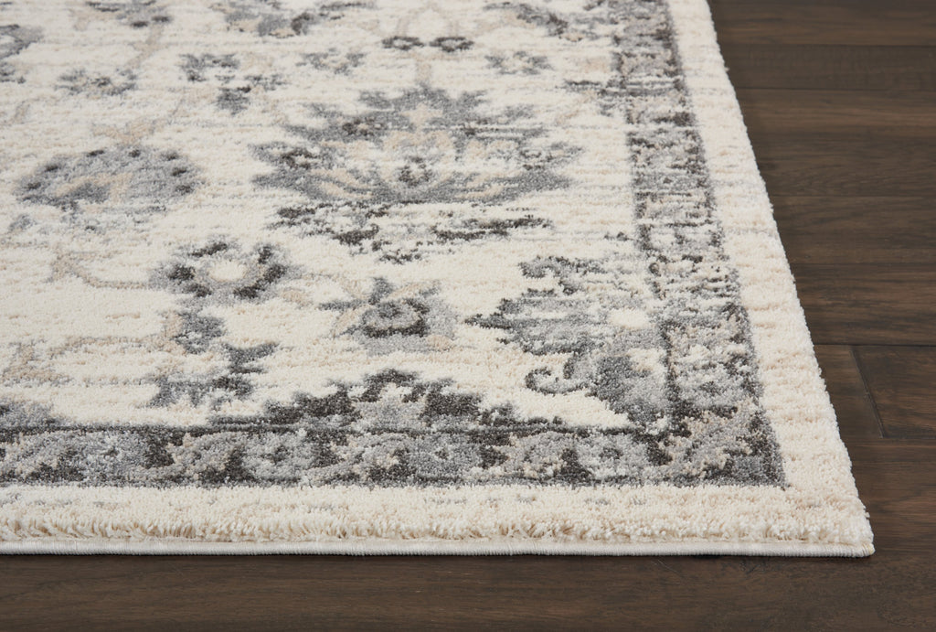 Fusion Rug in Cream/Grey by Nourison