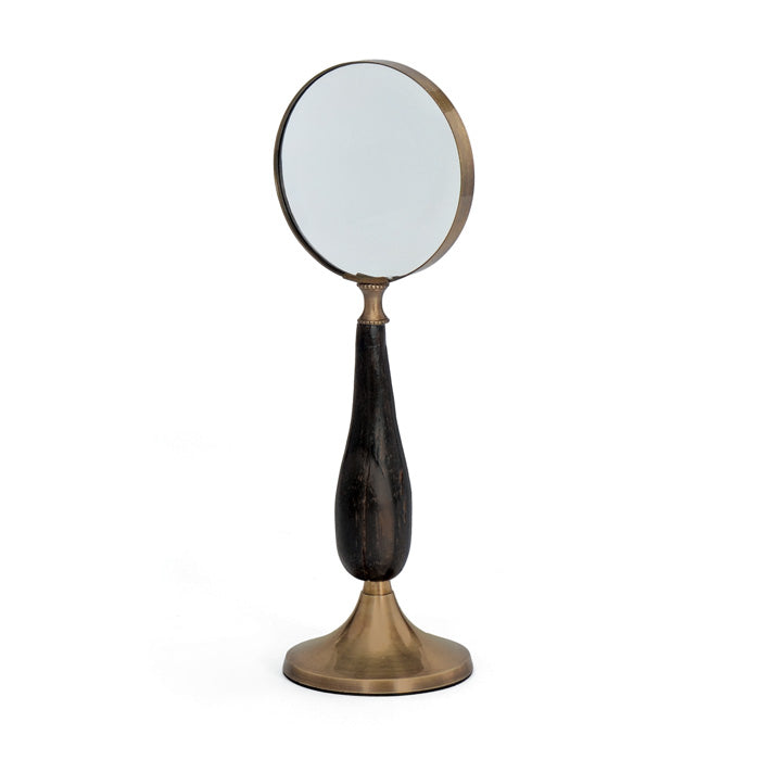 Brass Stand Up Magnifying Glass by BD Edition