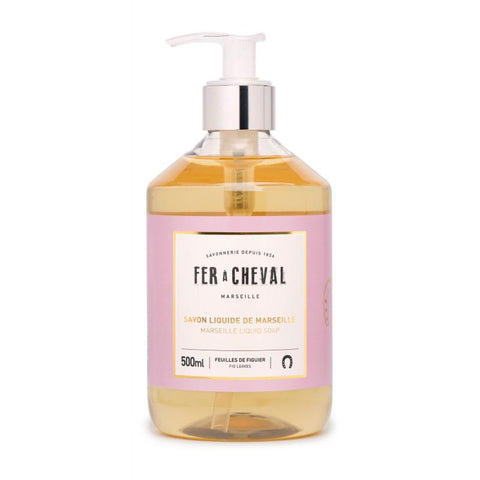 Fer à Cheval Marseille Liquid Soap Fig Leaves