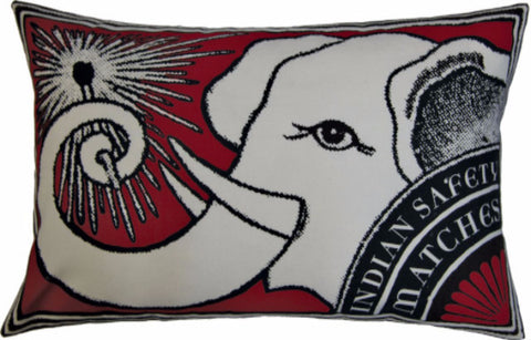 Match Co Elelephant Print Pillow Design by Koko & Co