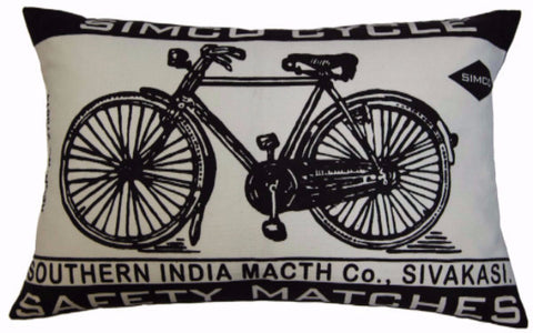 Match Co Simco Cycle Pillow Design by Koko & Co