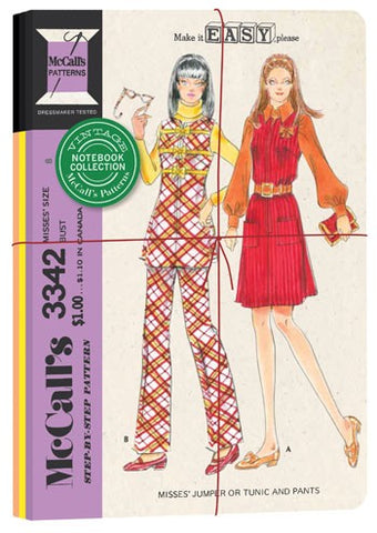 Vintage McCall's Patterns Notebook Collection by Chronicle Books