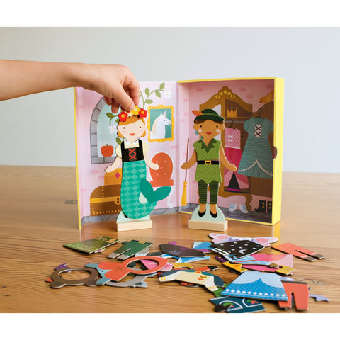 Magnetic Dress Up Fairy Tale Friends by Petit Collage