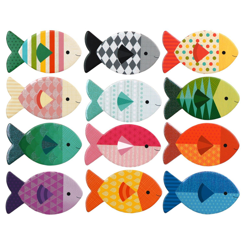 Gone Fishing Memory Game by Petit Collage