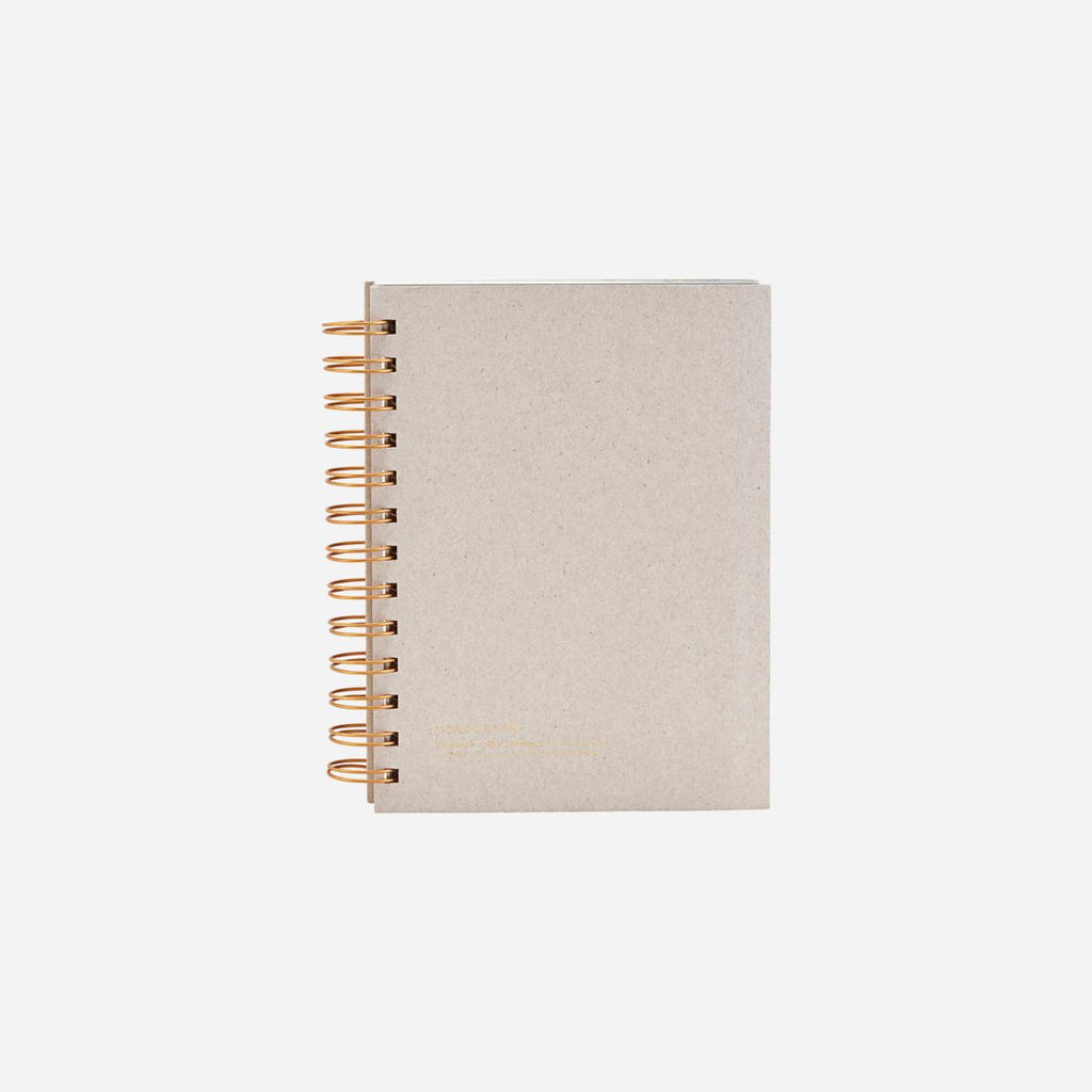 Tab Notebook, Grey in Various Sizes