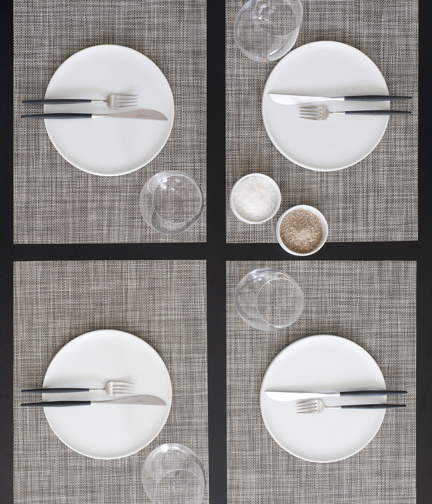 Mini Basketweave Tablemat in Multiple Colors design by Chilewich