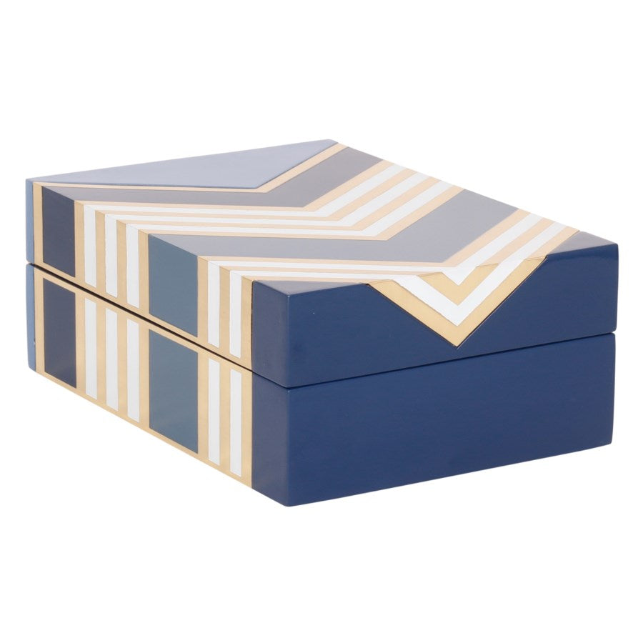 Morgan Box in Blue design by Selamat