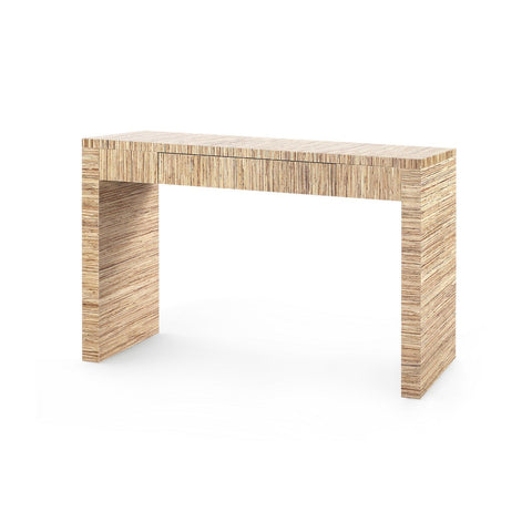 Morgan Papyrus Console Table in Natural design by Bungalow 5